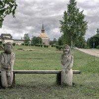 Жили-были дед да бабка в городе Кириллове, что в Вологодской области :: Valeriy Piterskiy