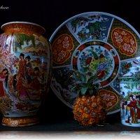 Мини ананас и китайская посуда :: Nina Yudicheva