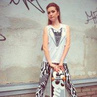 #Мода#fashion Показ моды. Спасибо девченкам хорошо по зажигали. @ Г. Пермь :: Алексей