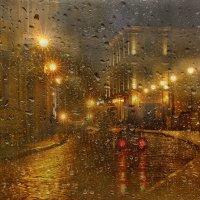... и ветер пальчиком рисует полоски света на стекле... :: Эля Юрасова