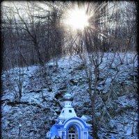 Храм в горе :: Katrin Kolos