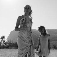 Мама с дочкой :: Анна Выскуб