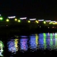 Огни ночного города. Псков. :: Fededuard Винтанюк
