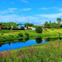 Сельский пейзаж. :: Николай Крюков