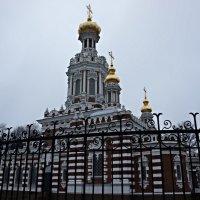 Церковь Воскресения Христова на Смоленском кладбище. :: Елена Павлова (Смолова)