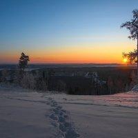 Следы на вершине :: vladimir Bormotov