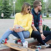 Прогулка с замечательной влюбленной парой :: Ирина Михайлова