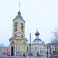 Церковь Успения Пресвятой Богородицы, что в Казачьей слободе :: Александр Качалин