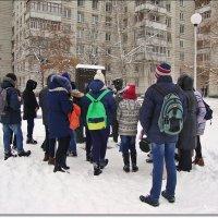 Экскурсия школьников по любимому городу Заречный :: Лидия (naum.lidiya)