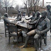 Скульптурная группа «Зодчие» Скульптор: Александр Таратынов :: Елена Смолова