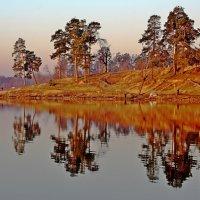 Апрель на озере. :: Николай Масляев