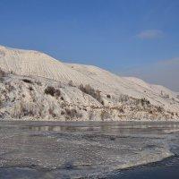Первый лёд на Каме :: Валерий Рыжов