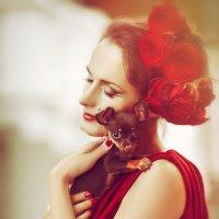 La Dame au petit chien :: Ruslan Bolgov