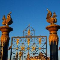 Ворота парка «Миллениум» :: Grey Bishop