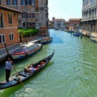 Близ мест, где царствует Венеция златая :: Елена Трунова