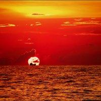 про корабль на солнце. :: svabboy photo