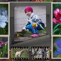 Девочка с цветочками :: Владимир Кроливец