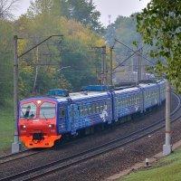 Электропоезд ЭД4М-0401 :: Денис Змеев