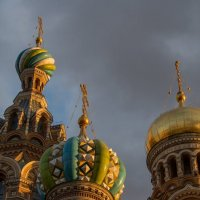 Купола Храма Спаса-на-крови :: Алиса Колпакова