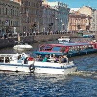Река Мойка,  поворот на Зимнюю канавку :: Фотогруппа Весна.