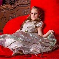 Девочка в серебристом платье. :: Александр Лейкум