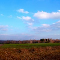какое небо голубое... :: Vladimir Smirnov