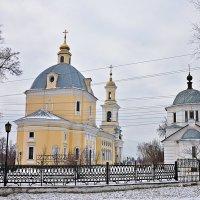 Христорождественская церковь с тыльной стороны. :: Андрей Синицын