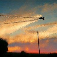 Но утки уже летят высоко.. :: Alexey YakovLev