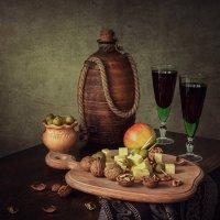 Натюрморт с домашним вином :: Ирина Приходько