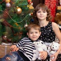 Любимый братик с любимой сестричкой! )) :: Райская птица Бородина