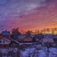 Приятный зимний вечер... :: марк