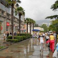 Дождливая Ялта :: Виктор Шандыбин