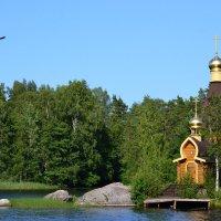 Храм Андрея Первозванного, на реке Вуокса. :: Облачко *