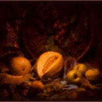 Узбекская дыня с фруктами :: alexandr lin