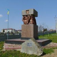 Памятник  борцам  за  независимость  Украины  в  Ивано - Франковске :: Андрей  Васильевич Коляскин