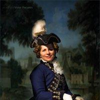 Портрет дамы Ирины..... :: Виктор Перякин