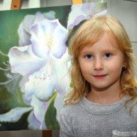 девочка цветочек :: Ефим Журбин