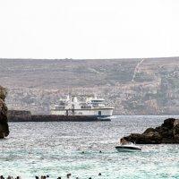Паром, курсирующий между Мальтой и Гозой :: Witalij Loewin