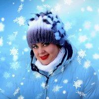 Как Снегурочка... :: TATYANA PODYMA