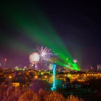 новогодняя ночь 2016 :: Денис Красненко
