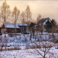 Зимний вечер в деревне... :: марк