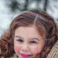 девочка в лесу :: Катерина Фадеева