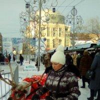 Олень на ярмарке! :: Светлана Калмыкова