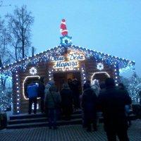 В гости к Деду Морозу :: Галина