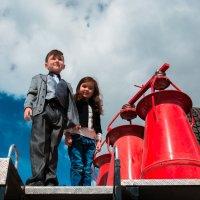 на пожарной машине :: Оксана Сафонова