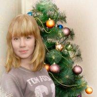Портрет у елки :: Андрей Ромашов