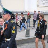 Мальчики-курсанты,  девочки-кадеты :: Дмитрий Никитин