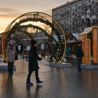 Москва новогодняя :: Анастасия Смирнова