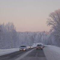 Зимняя дорога в Горный :: @ fotovichka