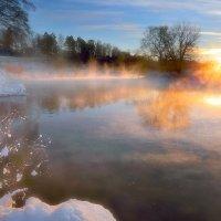 Морозные закаты января...3 :: Андрей Войцехов
